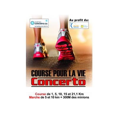La Course Pour La Vie Concerto