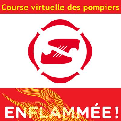 Course virtuelle des pompiers